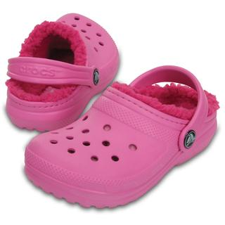 Crocs Παιδικά παντοφλάκια-σαμπό Classic Lined Clog party