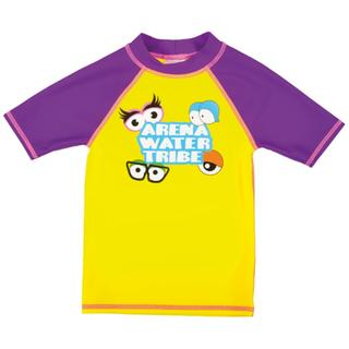 ΜΠΛΟΥΖΑΚΙ ΗΛΙΟΠΡΟΣΤΑΣΙΑΣ ARENA AWT KIDS GIRL UV S/S TEE yellow star/mirtilla