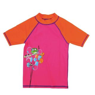 ΜΠΛΟΥΖΑΚΙ ΗΛΙΟΠΡΟΣΤΑΣΙΑΣ ARENA AWT KIDS GIRL UV S/S TEE fresia rose/mango