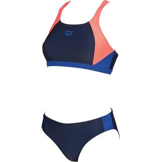 587de8a0464 ΓΥΝΑΙΚΕΙΟ ΜΑΓΙΟ ARENA W REN TWO PIECES Navy-Shiny Pink-Royal 000990797