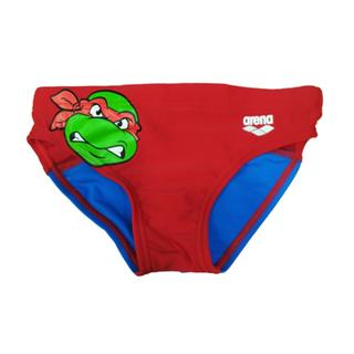ΠΑΙΔΙΚΟ ΜΑΓΙΟ ARENA KIDS BOY TURTLES BRIEF red/pix blue