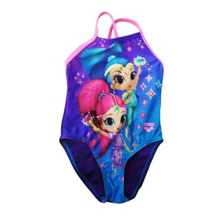 ΠΑΙΔΙΚΟ ΜΑΓΙΟ ARENA KIDS GIRL SHIMMER&SHINE ONE PIECE turquoise/mirtilla/paparazzi