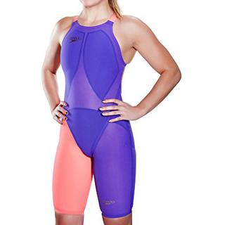 e15644c8818 ... ΑΓΩΝΙΣΤΙΚΟ ΜΑΓΙΟ SPEEDO LZR RACER ELITE 2 CLOSEBACK KNEESKIN purple/red  ...