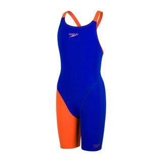 ΠΑΙΔΙΚΟ ΑΓΩΝΙΣΤΙΚΟ ΜΑΓΙΟ SPEEDO FASTSKIN ENDURANCE+ OPENBACK KNEESKIN blue/orange