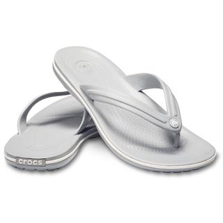 Crocs Σαγιονάρες Crocband flip Light Grey/ White 11033-00J