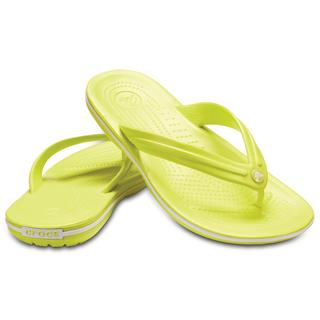 Crocs Σαγιονάρες Crocband flip Tennis ball green/white