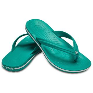 Crocs Σαγιονάρες Crocband flip Tropical teal/white