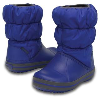 Winter Puff Boot Kids cerulean