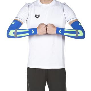 ΜΑΝΙΚΙΑ ΑΠΟΚΑΤΑΣΤΑΣΗΣ ARENA UNISEX CARBON COMPRESSION ARM SLEEVES Electric Blue 1D65880