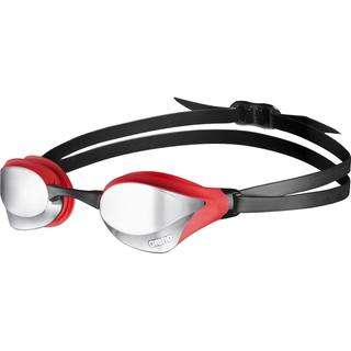 RACING GOGGLES ARENA COBRA CORE MIRROR silver/red/black