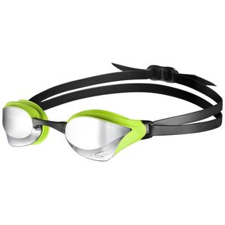 RACING GOGGLES ARENA COBRA CORE MIRROR silver/green