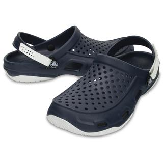 Crocs Ανδρικά Σαμπό Swiftwater Deck Clog navy/white