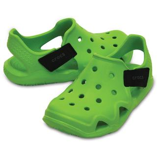 10d314232c4 Crocs Παιδικά σανδάλια Swiftwater Wave volt green