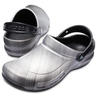 Crocs Bistro Graphic metallic silver