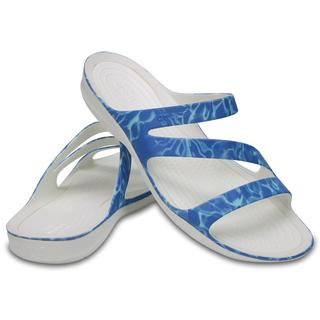 Crocs Γυναικεία Σανδάλια Swiftwater Graphic Sandal water