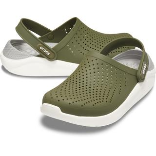 Crocs LiteRide Clog Army Green/White 204592-37P