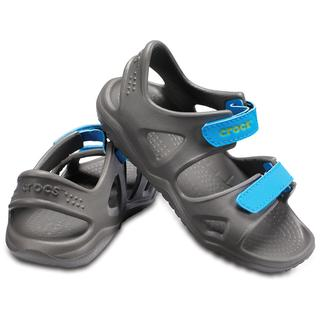 Crocs Παιδικά σανδάλια Swiftwater River Sandal K slate grey/ocean