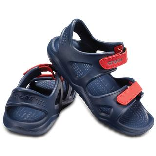 Crocs Παιδικά σανδάλια Swiftwater River Sandal K navy/flame