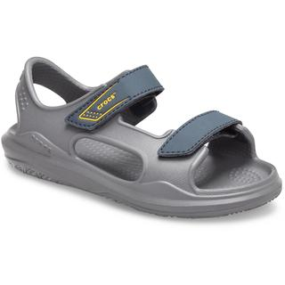 CROCS Παιδικά σανδάλια SWIFTWATER EXPEDITION SANDAL KIDS Slate Grey/Charcoal 206267-0GR