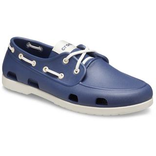 Ανδρικό Υπόδημα Crocs Classic Boat Shoe Men Navy/Stucco 206338-46K