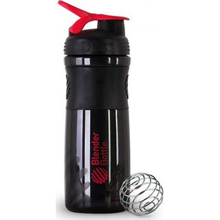 SHAKER BLENDER BOTTLE Sportmixer Black/Red 820 ML