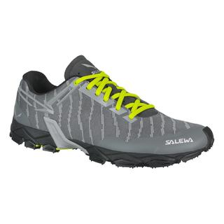 RUNNING SHOES SALEWA LITE TRAIN - MEN quiet shade/cactus