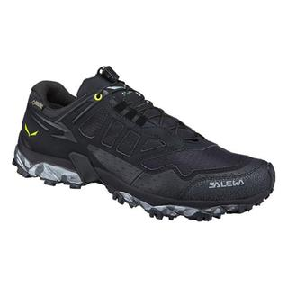 ΑΝΔΡΙΚΑ ΑΘΛΗΤΙΚΑ ΥΠΟΔΗΜΑΤΑ RUNNING SALEWA ULTRA TRAIN GTX - MEN black/Swing green
