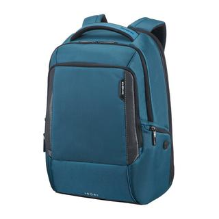 ΤΣΑΝΤΑ ΠΛΑΤΗΣ SAMSONITE CITYSCAPE TECH LAPTOP BACKPACK 35.5cm/14inch Petrol Blue