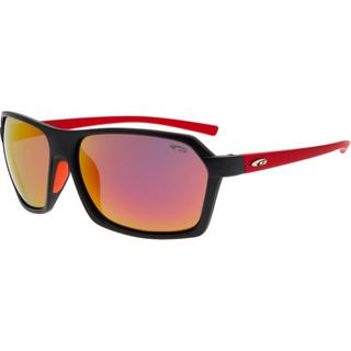 ΓΥΑΛΙΑ ΗΛΙΟΥ GOGGLE SUNGLASSES KIVO Matt Black/ Red E923-5P
